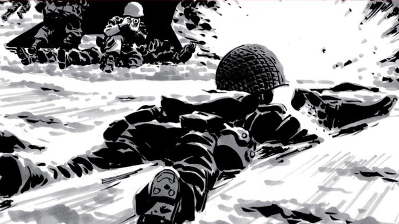 comic omaha beach