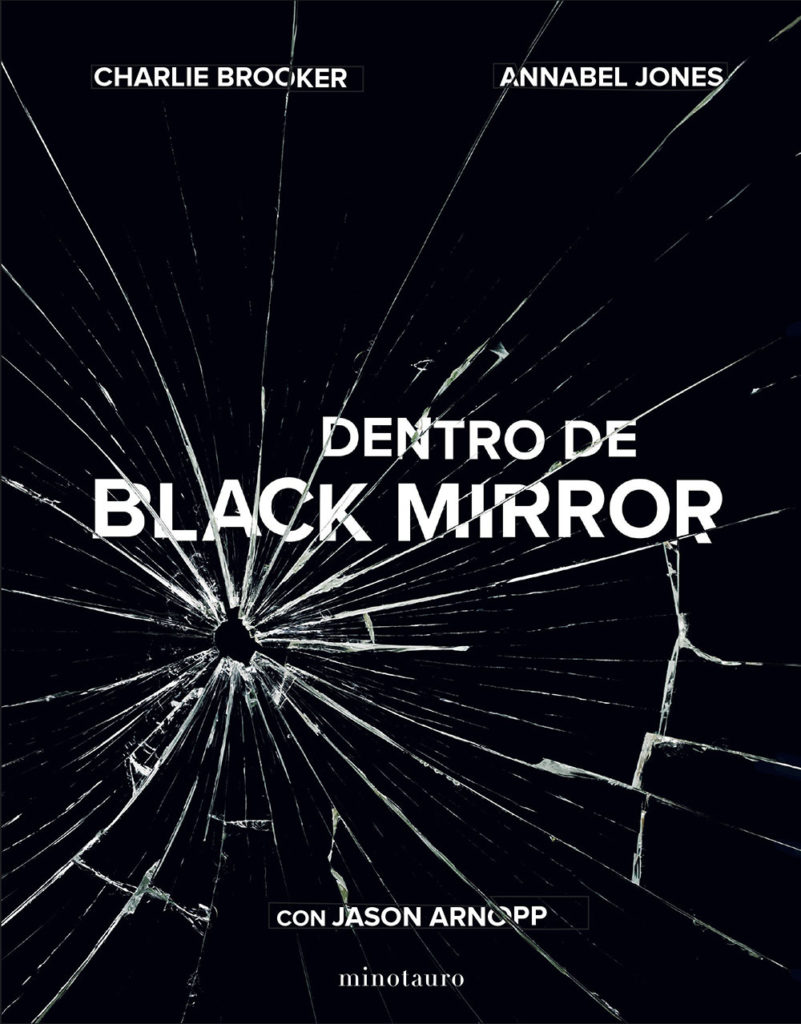 libro dentro de black mirror