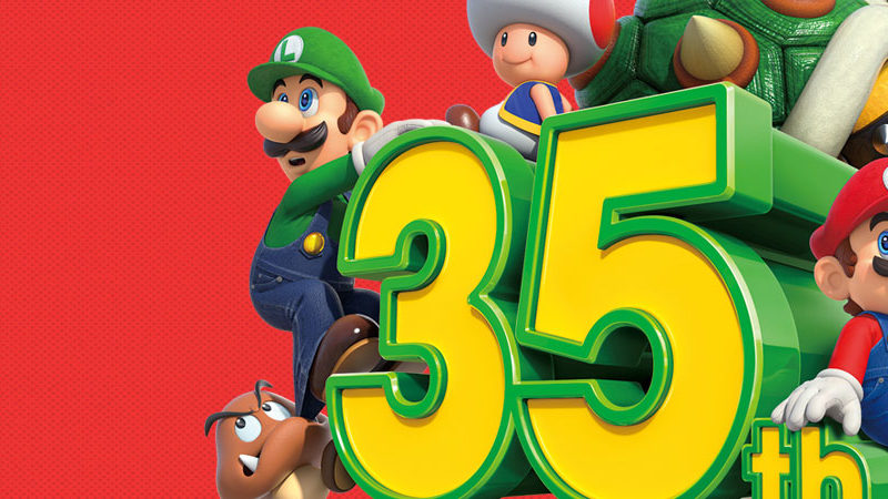35th aniversario super mario