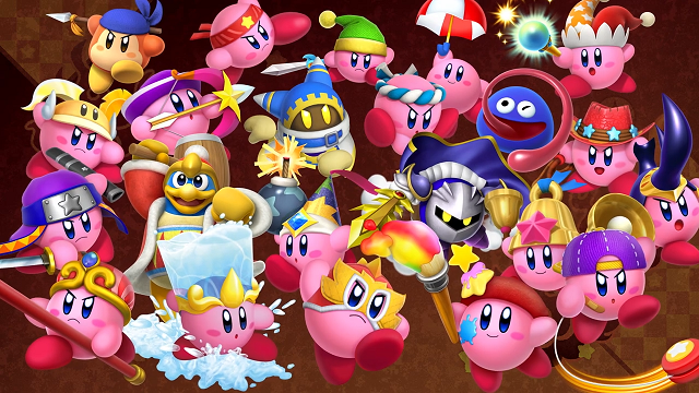 kirby fighters personajes