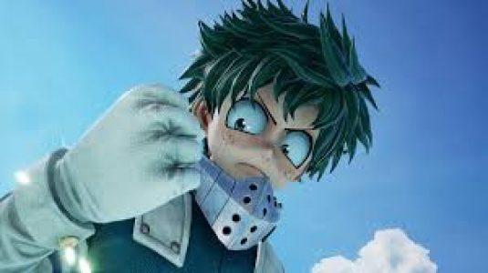 Boku no Hero Academia: Izuku Midoriya.